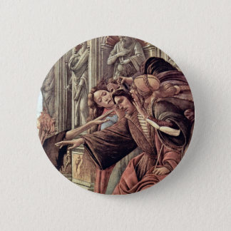 Slander  By Botticelli Sandro (Best Quality) 2 Inch Round Button