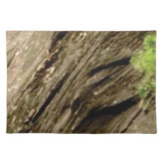 slant shadow stone placemat