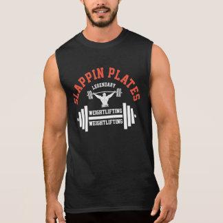 Slappin Plates Weightlifting Sleeveless Shirt