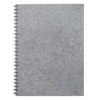 Slate background notebook