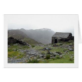 Slate bothy - Lake District Card
