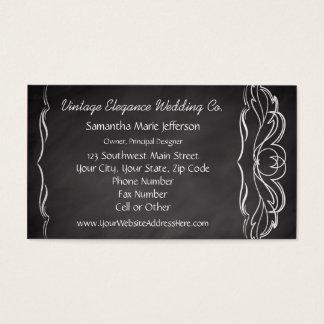 Slate Chalkboard-look Business Card