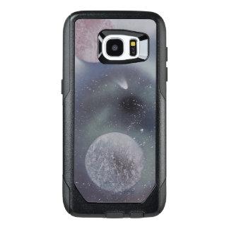 Slate Comet Spray Paint Art phone case