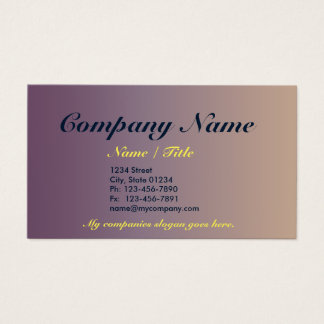 Slate Gradient 1 Sided Business Card Template v3