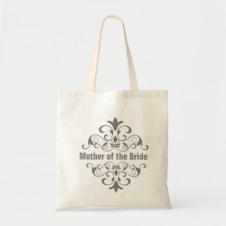 Slate Mother of the Bride Wedding Tote Bag