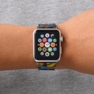 Slatter paint apple watch band