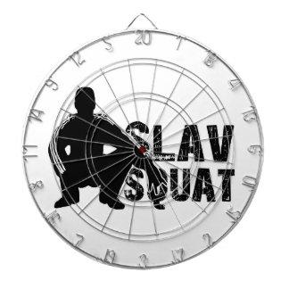 Slav Squat Dartboard