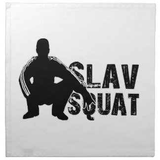 Slav Squat Napkin