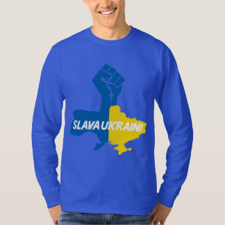 Slava Ukraini! solidarity T-shirt