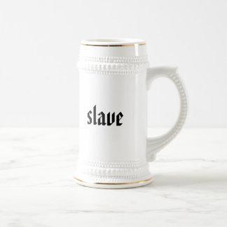 slave beer stein