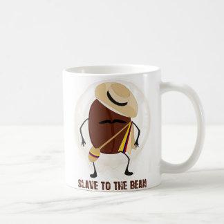Slave To The Bean Basic White Mug