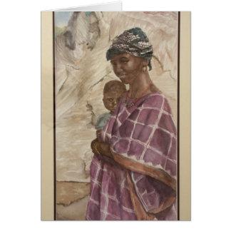 Slave Woman Card