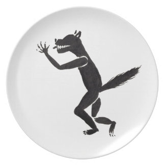 Slavering Werewolf Plate