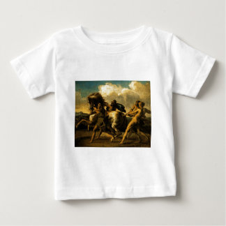 Slaves stopping a horse, study for The Race Baby T-Shirt