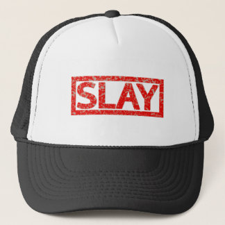 Slay Stamp Trucker Hat