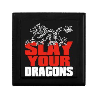 SLAY YOUR DRAGONS, gift for Jordan Peterson fans Gift Box