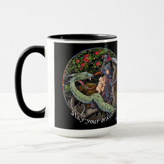 Slay your dragons, Jordan Peterson quotes lessons Mug
