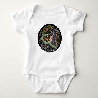 SLAY YOUR DRAGONS, Medieval art,Jordan Peterson Baby Bodysuit