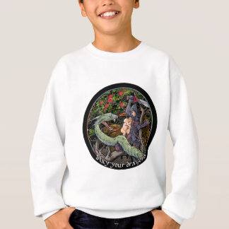 SLAY YOUR DRAGONS, Medieval art,Jordan Peterson Sweatshirt