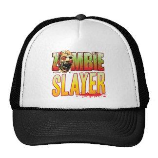 Slayer Zombie Head Mesh Hat
