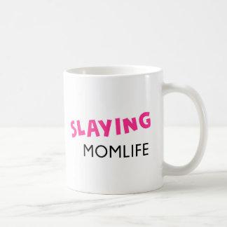 Slaying Momlife Coffee Mug
