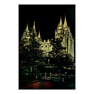 SLC Temple Poster