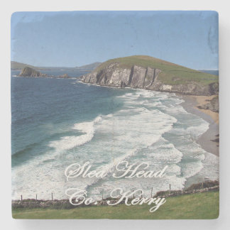 Slea Head, Dingle, Ireland Marble Coasters. Stone Coaster