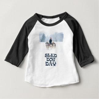 Sled Dog Day - Appreciation Day Baby T-Shirt