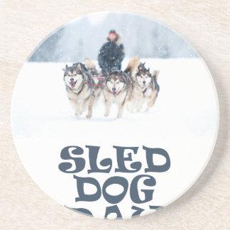 Sled Dog Day - Appreciation Day Coaster