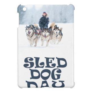 Sled Dog Day - Appreciation Day iPad Mini Cases