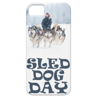 Sled Dog Day - Appreciation Day iPhone 5 Cover