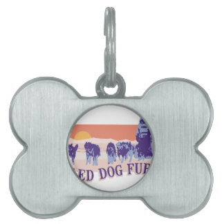Sled Dog Fury Pet Name Tags