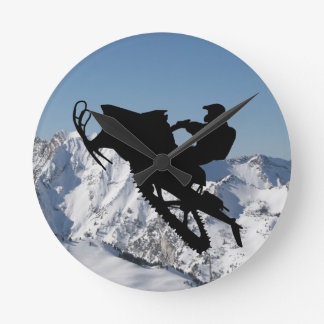 Sled Mountain Clock