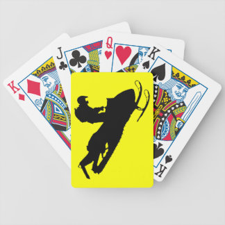 Sled playing Cards