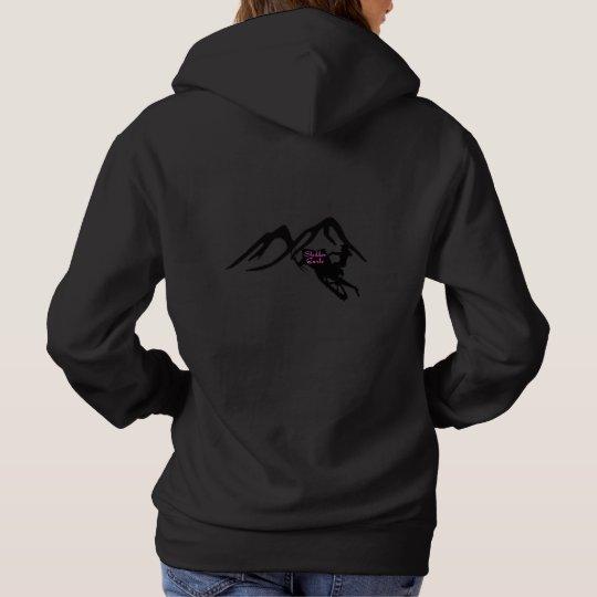 Sledder Gurlz basic black hoodie