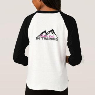 Sledder Gurlz in Training baseball shirt for girls