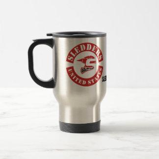 """Sledders.com """"Colors"""" Stainless Steel Tumbler Travel Mug"""