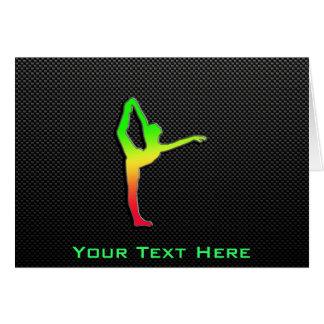 Sleek Ballet Greeting Card