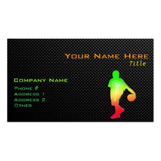 Sleek Basketball Pack Of Standard Business Cards