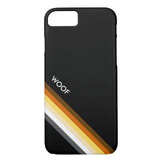Sleek Bear Pride Flag WOOF iPhone 7 Case