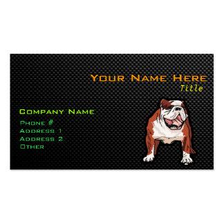 Sleek Bulldog Pack Of Standard Business Cards