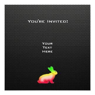 Sleek Bunny Personalized Announcement