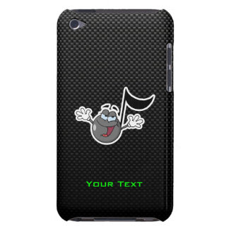Sleek Cartoon Music Note Barely There iPod Cases