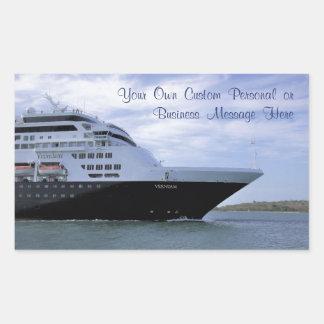 Sleek Cruise Ship Bow Custom