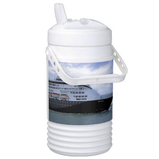 Sleek Cruise Ship Bow Drinks Cooler