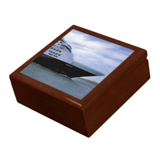 Sleek Cruise Ship Bow Gift Box