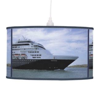 Sleek Cruise Ship Bow Pendant Lamp
