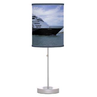 Sleek Cruise Ship Bow Table Lamp