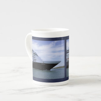 Sleek Cruise Ship Bow Tea Cup