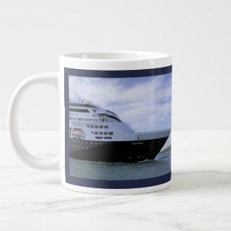 Sleek Cruise Ship Large Coffee Mug